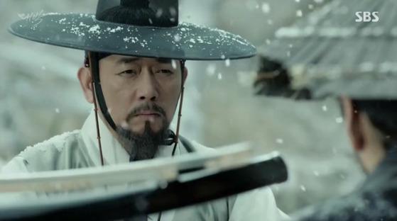 영조 때 벌어진 이인좌의 난을 다룬 SBS 사극 '대박' [tkwlswprhd=뉸]