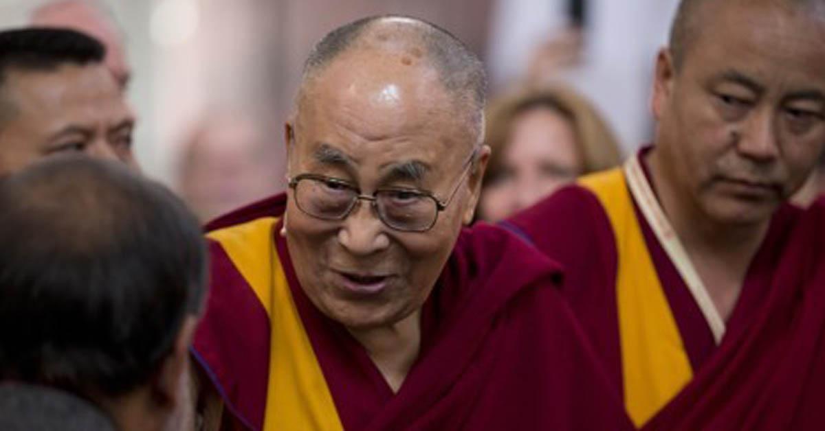 네덜란드를 방문한 달라이 라마 [AP=연합뉴스]