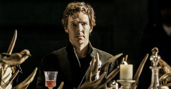 셰익스피어의 작품 '햄릿'은 덴마크가 영국을 지배하던 시기가 배경이다. 연극 '햄릿'에 출연한 영국 배우 베네딕트 컴버배치. [중앙포토]