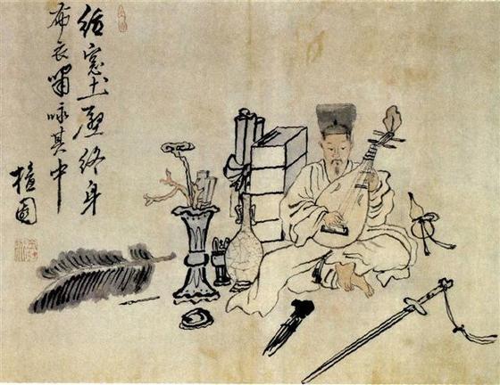 김홍도의 '포의풍류도' 18세기 후반 노론의 낙론계가 이끌었던 서울 양반의 개방적이고 자유로운 분위기가 느껴진다. [중앙포토]