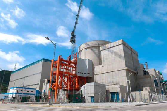 중국 광둥성에 위치한 양장 원자력 발전소. [신화통신=연합뉴스]