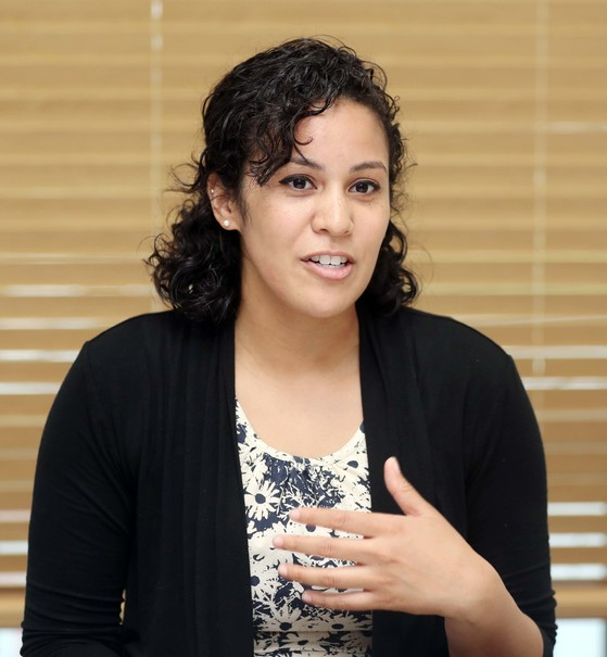 제이미 주니가(Jaymie Zuniga, American) / 미국 워싱턴 대학(University of Washington, 역사학 전공) / 교육 자격증 : TESOL / 한국 거주: 2 년6개월 / 영어교육경력 : 3 년 / 청담러닝 서초브랜치 [변선구 기자]