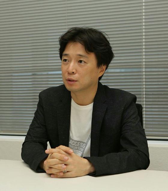 일본 전역을 돌며 인터넷 악플추방 운동을 벌이고 있는 오기소 켄. 제1회 선플인터넷평화상 수상자다. [사진 선플운동본부]