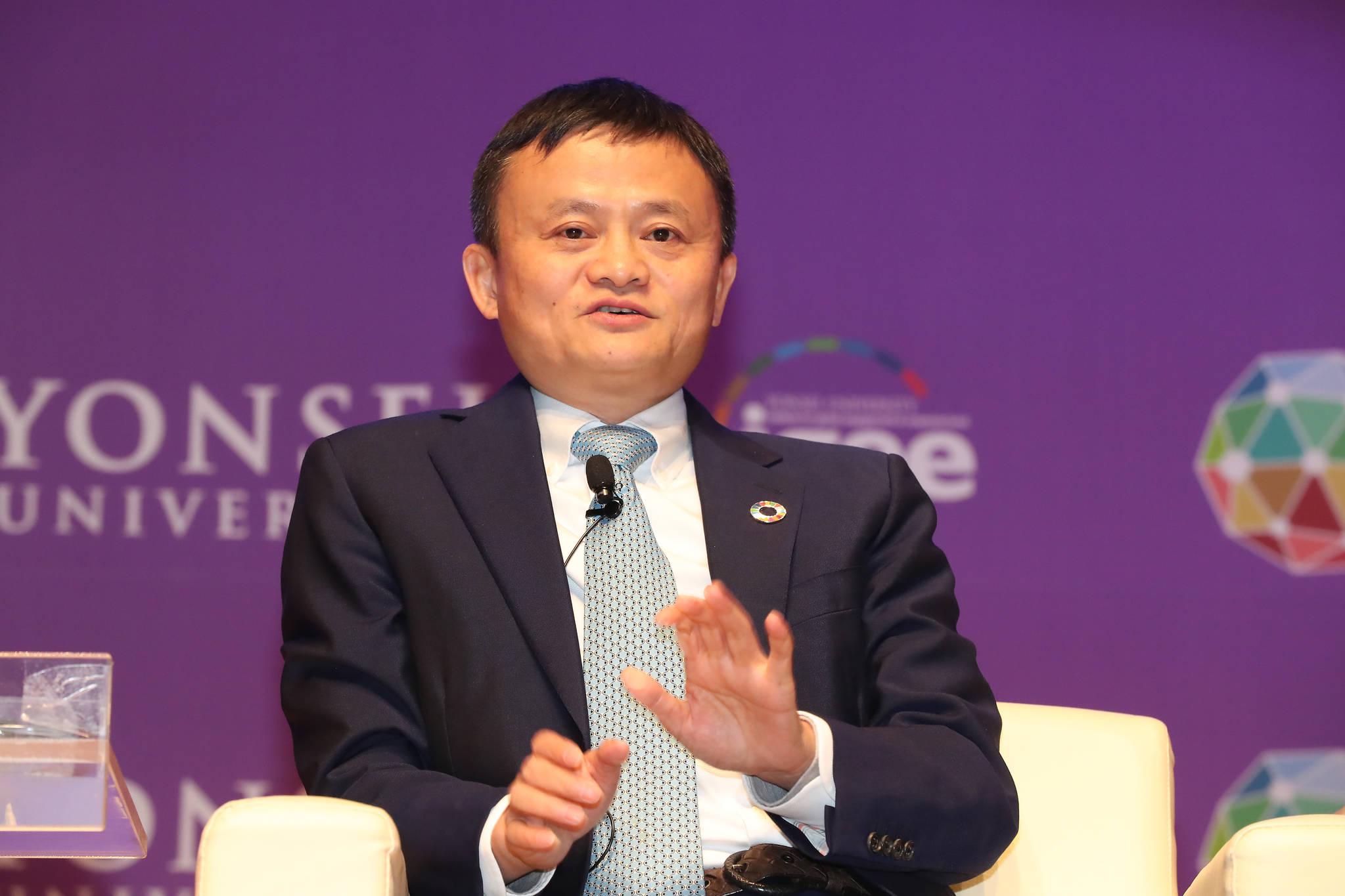 중국 최대 전자상거래업체 알리바바의 마윈 회장. [중앙포토]