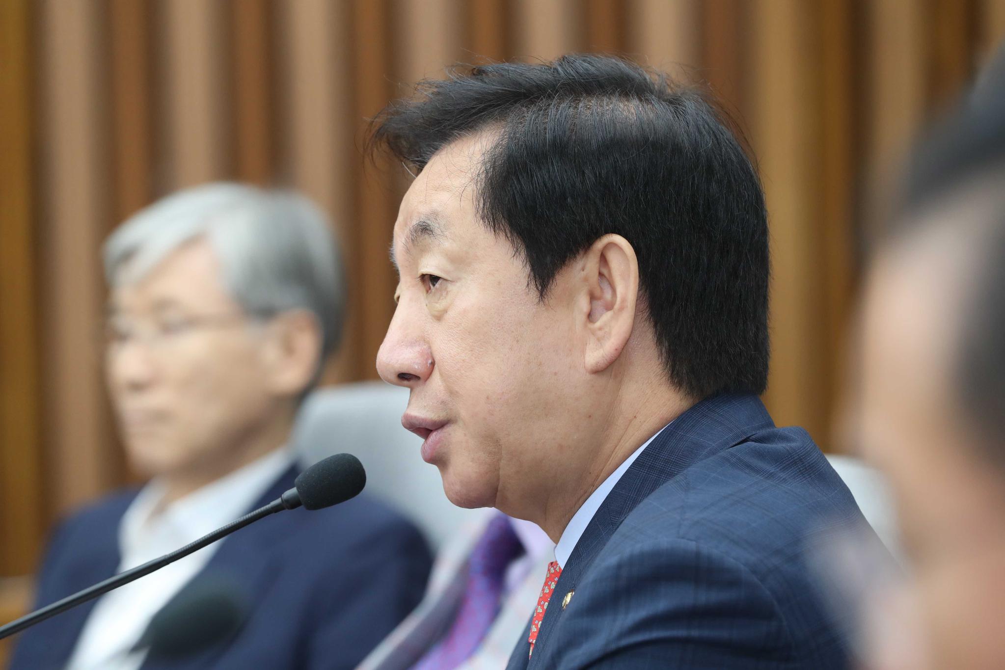 자유한국당 김성태 원내대표. 오종택 기자