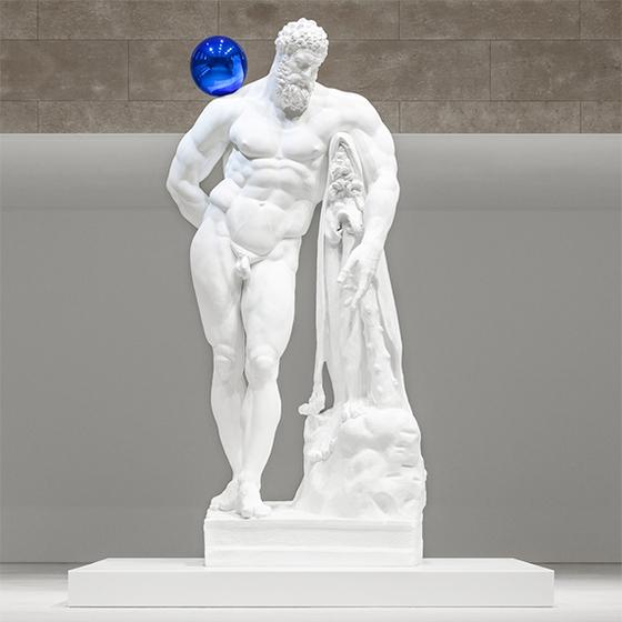 록스타급 미술가 제프 쿤스, 이런 헤라클레스 봤나요