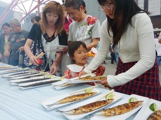 일본에서 최근 꽁치 어획량이 급감하면서 꽁치 값이 3년 새 60% 올랐다. [재팬타임스 캡처]