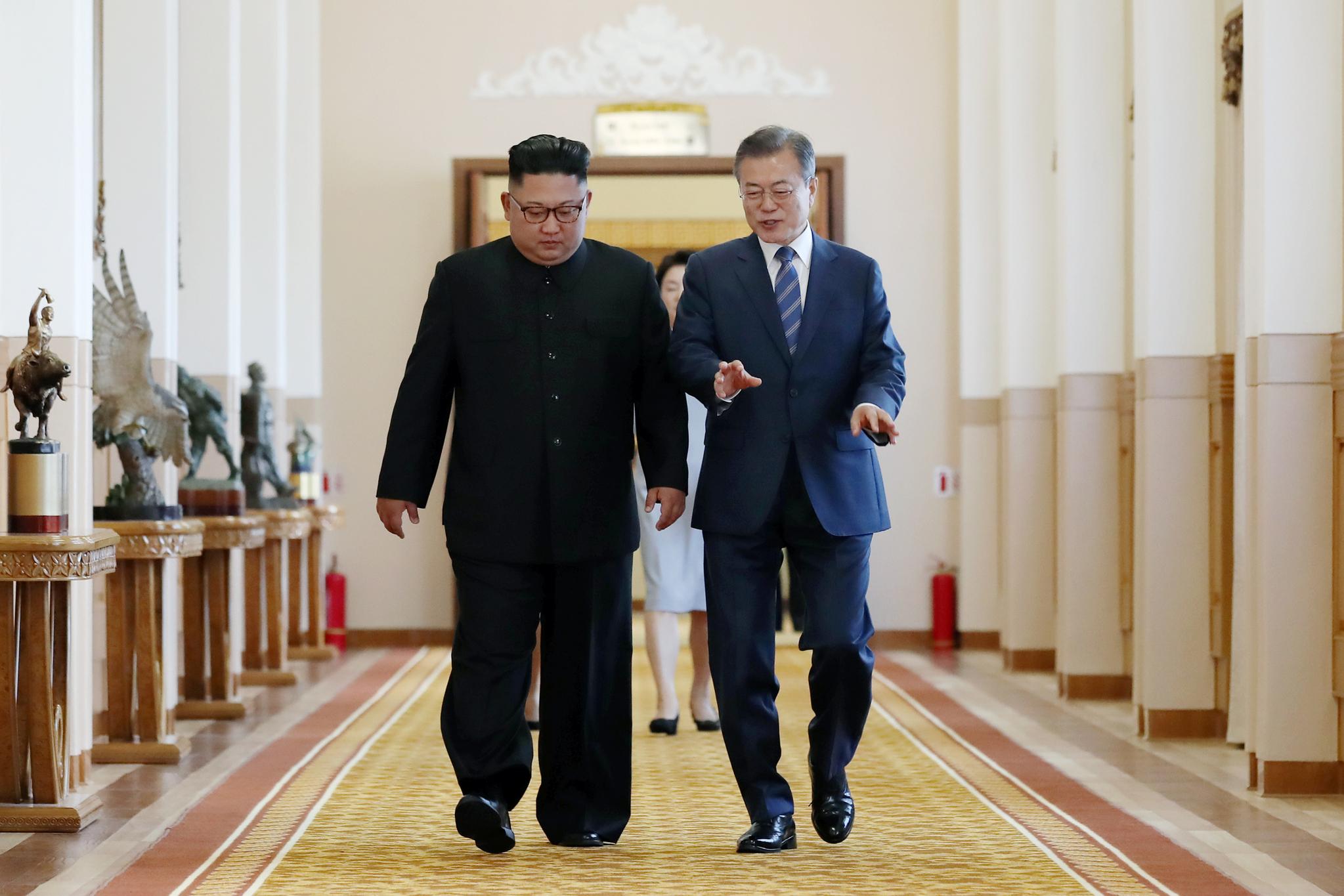 [서소문사진관]사진으로 보는 시간대별 3차 남북정상회담 이틀째