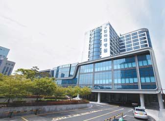 인하대병원은 24시간 간호·간병 통합서비스 제도를 운영하고 있다