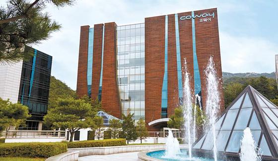 코웨이는 최고 수준의 생산시설과 R&D센터를 보유하고 우수한 제품 개발 역량을 바탕으로 1989년 설립 이후 라이프케어기업으로서 성장을 거듭하고 있다. 사진은 코웨이 R&D센터 전경. [사진 코웨이]
