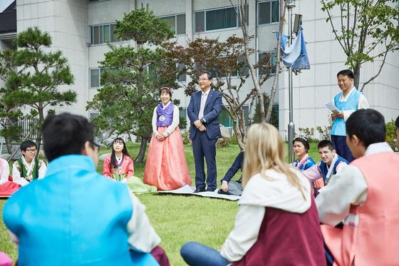 광운대 외국인 유학생 ALL CARE…유지상 총장의 네번째 소통 릴레이