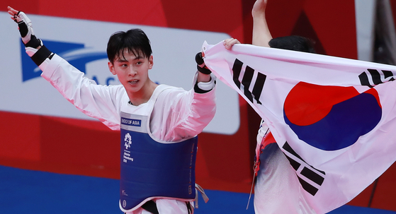 태권도 경량급 간판 김태훈, 월드그랑프리 6번째 정상