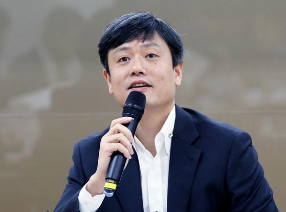 장병규 4차산업혁명위원회 위원장. 김태윤 기자
