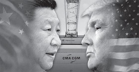 시진핑 중국 국가주석과 도널드 트럼프 미국 대통령. [중앙포토]