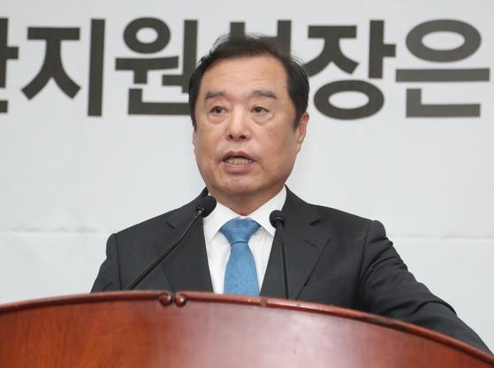자유한국당 김병준 비상대책위원장 [연합뉴스]
