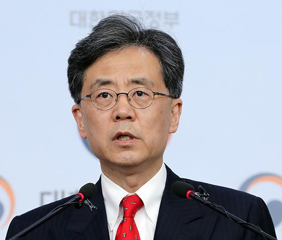 김현종 산업통상자원부 통상교섭본부장 [중앙포토]