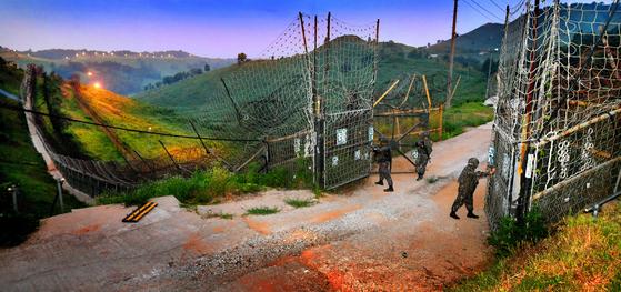 28사단은 중부전선을 지켜내며 철통경계를 이어간다[사진 육군 28사단 제공]