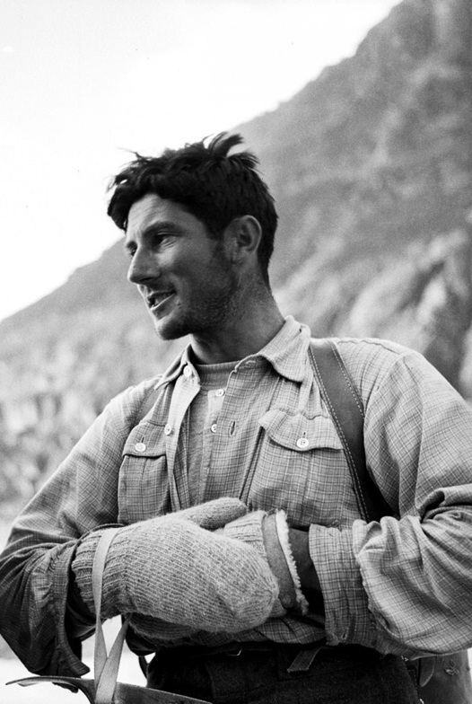 전성기 시절의?발터 보나티. 보나티는 알프스를 중심으로 등반사에 큰 족적을 남겼다.중앙포토
