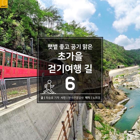 [카드뉴스] 햇볕 좋고 공기 맑은 초가을 걷기여행 길 6
