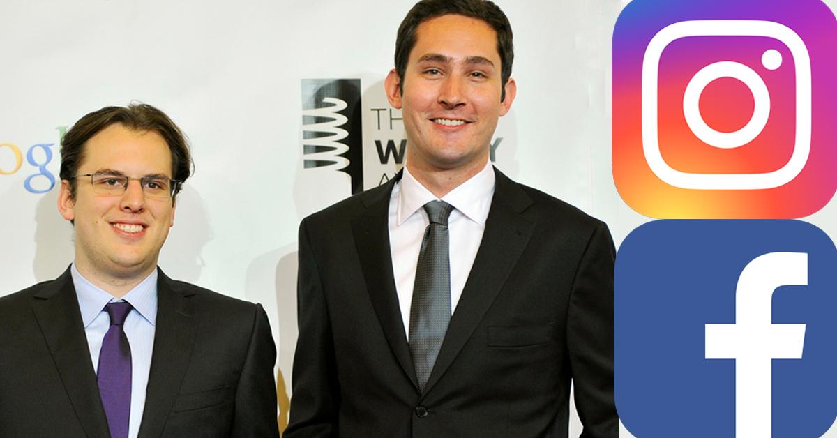 인스타그램 공동창업자인 마크 크리거(왼쪽)와 케빈 시스트롬이 페이스북을 떠나기로 했다. [로이터=연합뉴스]