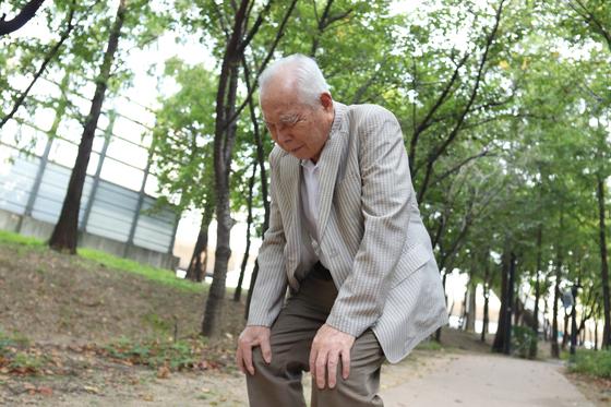 나이가 들면 퇴행성 무릎통증이 잘 발생한다.[사진 서울아산병원]