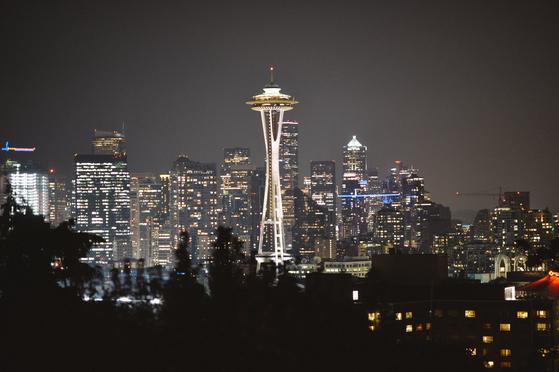 미국 시애틀의 상징인 스페이스 니들(Space Needle). 시애틀=정원엽 기자