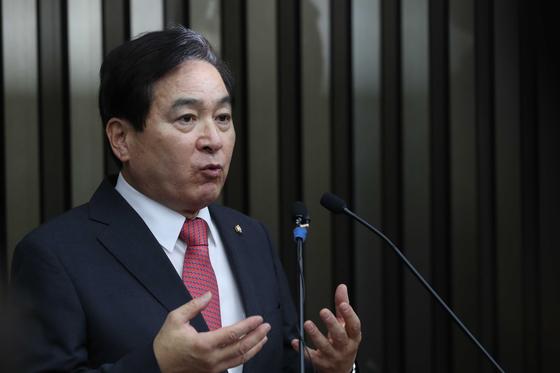 자유한국당 심재철 의원. 오종택 기자