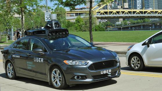 해외 대다수 국가에서 운송 분야의 가장 혁신적인 비즈니스 모델로 손꼽히는 우버 택시 서비스. [중앙포토]