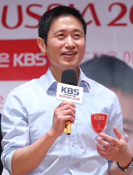 이영표 KBS 축구 해설위원. [연합뉴스]