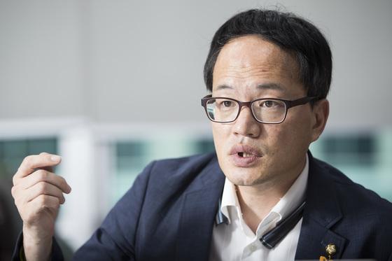 박주민 더불어민주당 의원. 우상조 기자