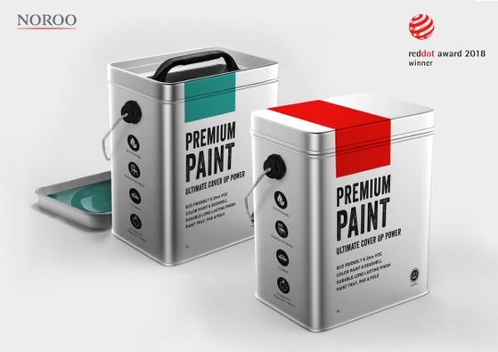 """컨셉워어드 수상작 'All-in-one paint package"""", 사진 제공 : 노루그룹"""