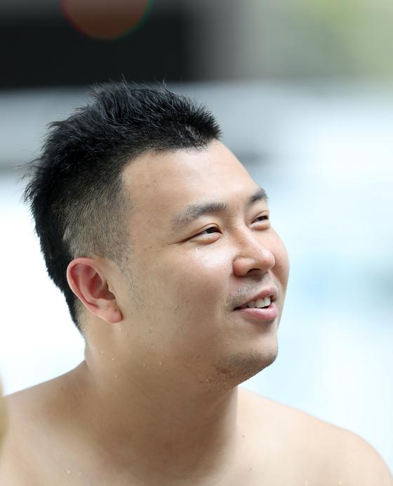 2018 인도네시아 장애인아시안게임에 출전하는 수영 국가대표 임우근. [사진 대한장애인체육회]