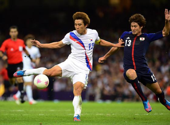 구자철은 지난 2012년 런던올림픽에서 한국축구 역사상 첫 동메달 주역으로 활약했다. [중앙포토]