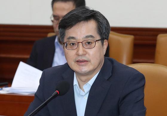 """말만 하면 여당이 뭉개니 … 김동연 """"가슴에 숯검댕"""""""