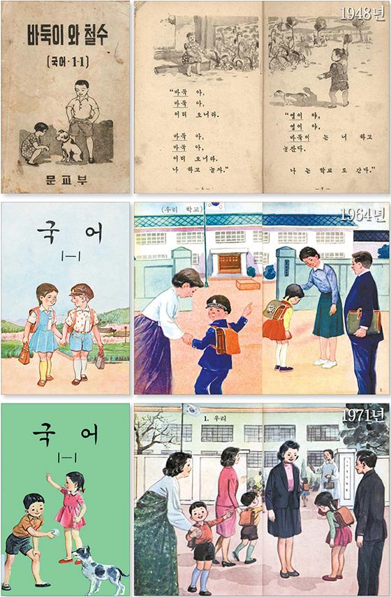 [포토클립] 생활상 담기던 교과서 발행, 올해로 70년