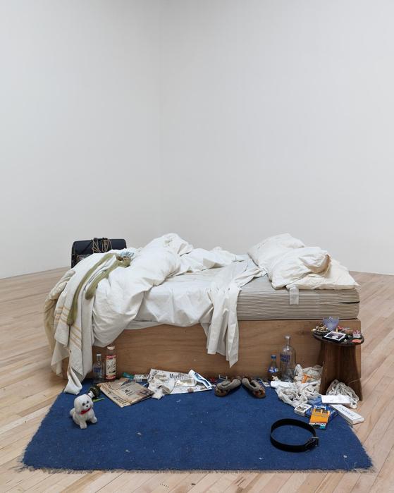 트레이시 에민, <나의 침대(My Bed, 1998)>. [사진 허유림]