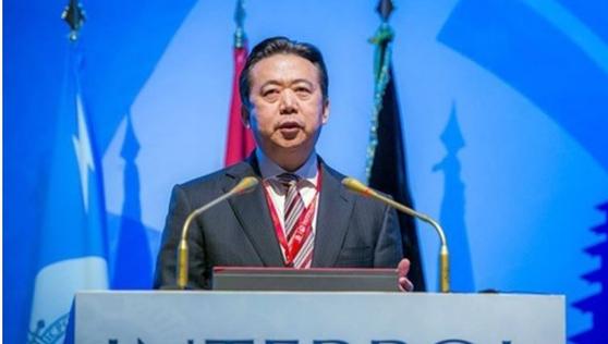 중국 출신의 인터폴 총재 멍훙웨이 [EPA=연합뉴스]