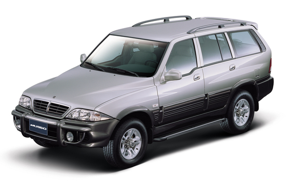 쌍용차 '무쏘'. 한글 이름을 가진 자동차 중 가장 많이 판매된 제품이다. 2005년 단종됐지만, 유럽에선 렉스턴 스포츠가 아직 무쏘라는 이름으로 판매되고 있다. [사진 쌍용차]
