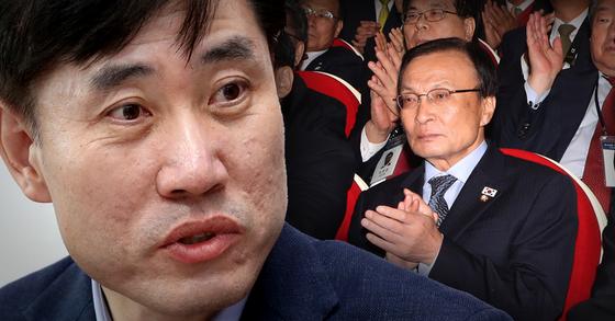 하태경 바른미래당 의원(왼쪽 사진)과 이해찬 더불어민주당 대표. [연합뉴스, 뉴스1]