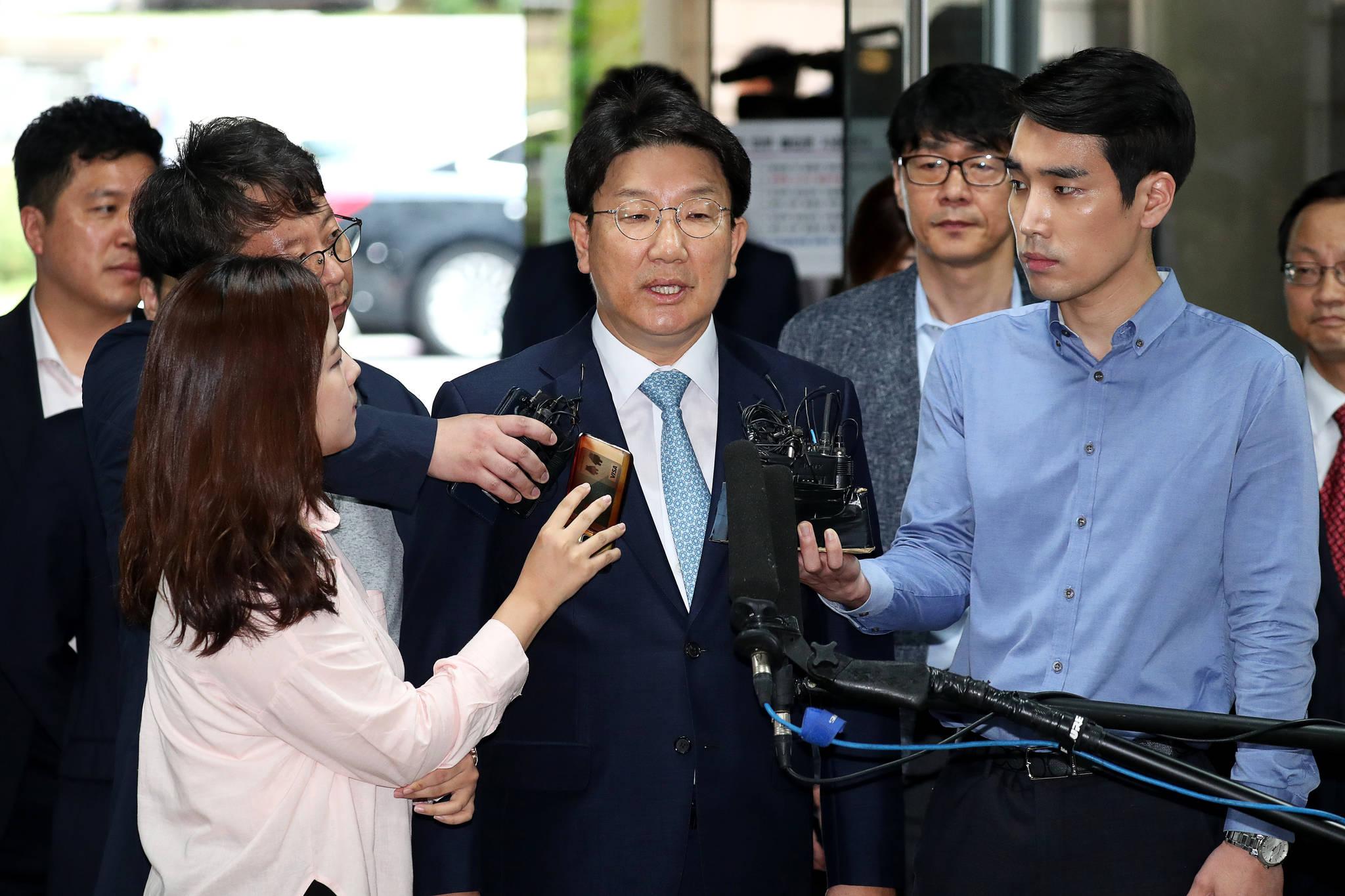 권성동 자유한국당 의원. 장진영 기자