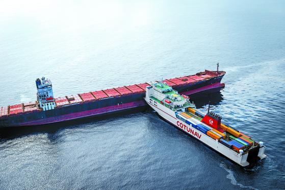 지중해 선박 충돌로 4㎞ 기름띠