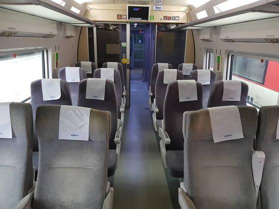 국내뿐 아니라 외국에서도 대부분 장애인석을 제외하곤 열차에 안전벨트를 설치하지 않는다.