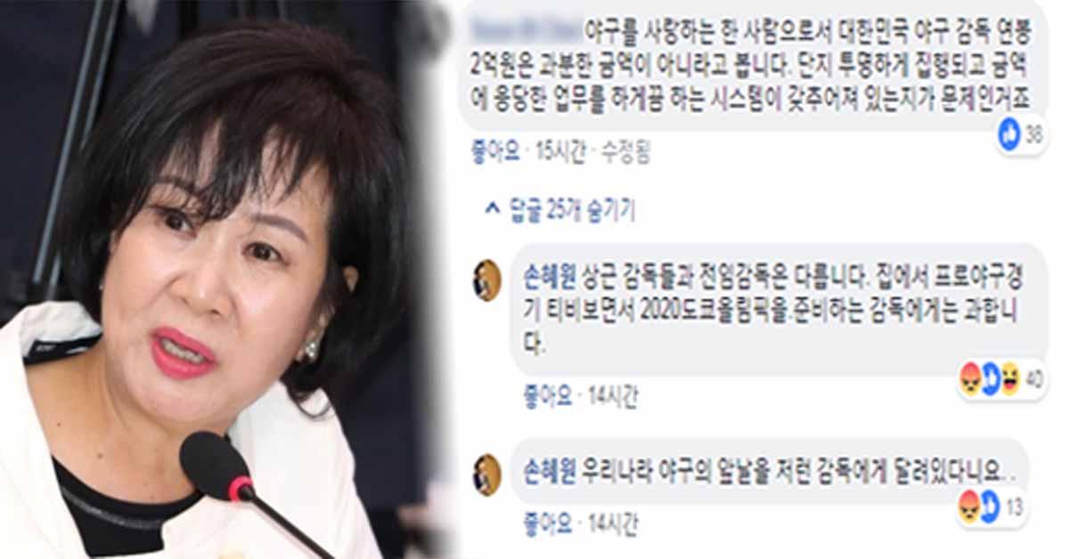 [사진 손혜원 의원 페이스북]
