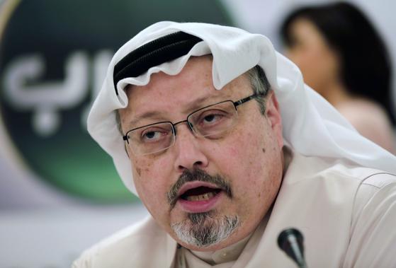 지난 2일 실종된 사우디 언론인 자말 카쇼기. [AP=연합뉴스]