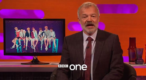 Photo from The Graham Norton Show Twitter