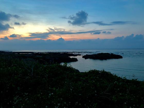 기카이 섬은 저녁이 되면 적막으로 빠져든다. 사진=김상진 기자