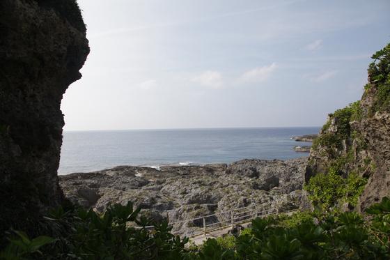 기카이 섬 서쪽 해안에 위치한 아라키나카사토는 절경과 선셋으로 유명하다. 사진=김상진 기자