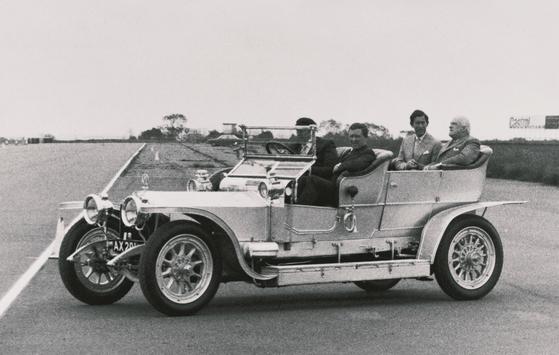1907 출시한 롤스로이스 최초의 차량 실버 고스트. [사진 롤스로이스]