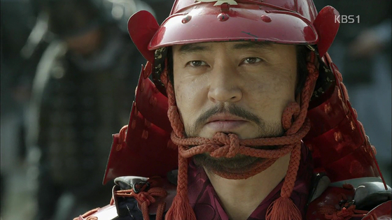 KBS 사극 '임진왜란'에서 김충선