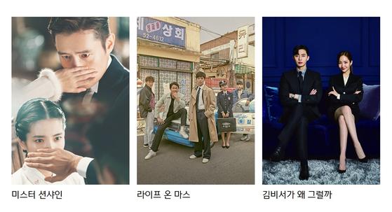 CJ ENM의 자회사 '스튜디오드래곤'이 제작한 드라마 [이미지 스튜디오드래곤]